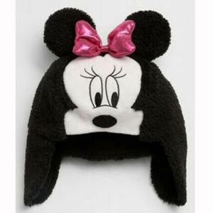 7c7dbb52934de Baby Gap Minnie Mouse Plush Trapper Hat